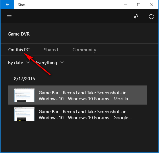 How to Take a Screenshots in Windows 10